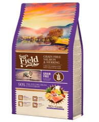 Sams' Field hrana za odrasle pse vseh pasem, brez žit, losos in sled, 2,5 kg