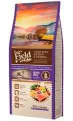 Sams' Field hrana za odrasle pse vseh pasem, brez žit, losos in sled, 13 kg