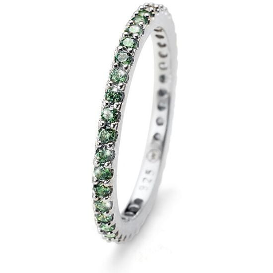 Oliver Weber Jolie ezüst gyűrű zöld kristályokkal 63225R GRE ezüst 925/1000