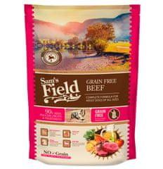 Sams' Field hrana za odrasle pse vseh pasem, brez žit, govedina, 800 g