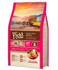 Sams' Field hrana za odrasle pse vseh pasem, brez žit, govedina, 2,5 kg
