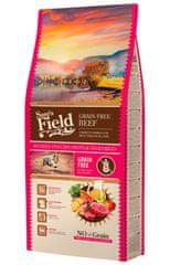 Sams' Field hrana za odrasle pse vseh pasem, brez žit, govedina, 13 kg