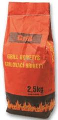 Ostatní Dřevěné brikety - gril, 2,5kg