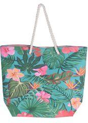 Koopman torba za plažo Leaf, 53x42x16 cm, zelena