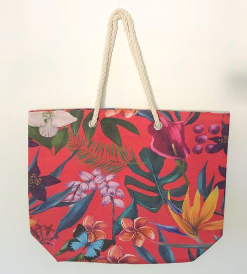 Koopman torba za plažu Leaf, 53x42x16 cm