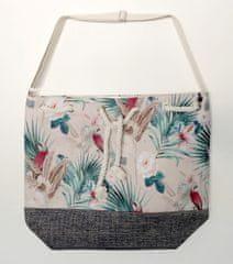 Koopman torba za plažo Flora, 54x44x18 cm, bež