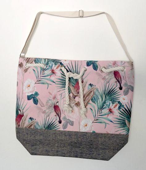 Koopman torba za plažo Flora, 54x44x18 cm