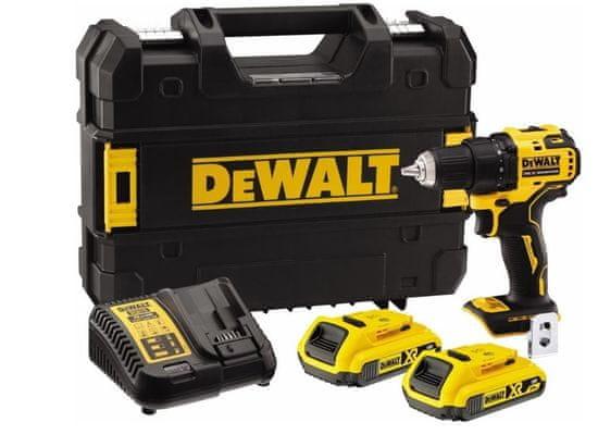 DeWalt DCD708D2T aku vrtací šroubovák 18V, 2x 2,0Ah