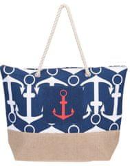 Koopman torba za plažu Sidro, 38x38x14 cm, tamno plava