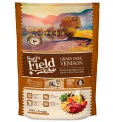 Sams' Field hrana za odrasle pse vseh pasem, brez žit, divjačina, 800 g