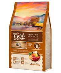 Sams' Field hrana za odrasle pse vseh pasem, brez žit, divjačina, 2,5 kg