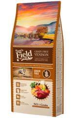 Sams' Field hrana za odrasle pse vseh pasem, brez žit, divjačina, 13 kg