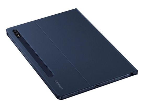SAMSUNG Book Cover Tab S7+/ S7 FE EF-BT730PNEGEU, sötétkék