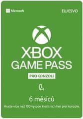 Microsoft Xbox Game Pass 6 měsíců (S3T-00004) - elektronicky