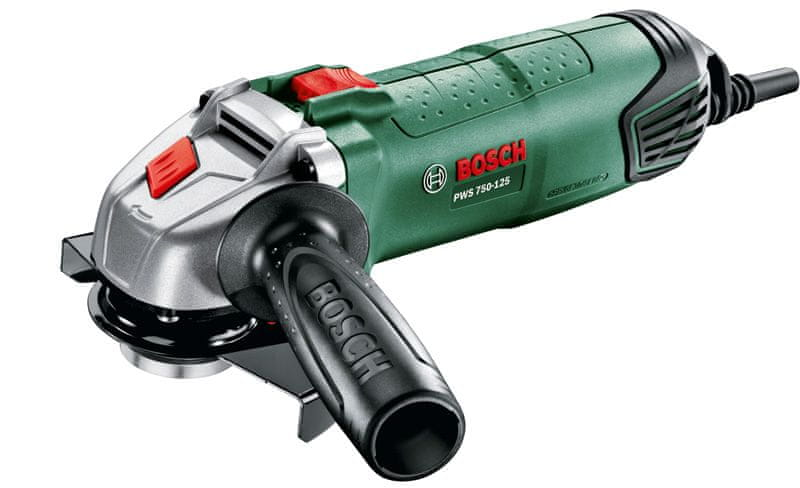 Bosch PWS 750-125 úhlová bruska (0.603.3A2.40D)