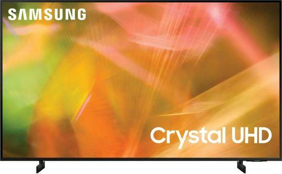 SAMSUNG UE75AU8002KXXH Smart LED Televízió, 189 cm, 4K Ultra HD, Crystal UHD, Fekete