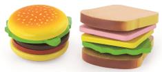 Viga leseni hamburger in sendvič