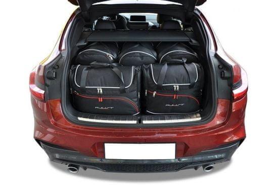 J&J Automotive Utazótáska szett BMW X4 G02 2018-, változat AERO 5db táskával