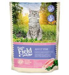 Sams' Field hrana za odrasle mačke, bela riba, 400 g