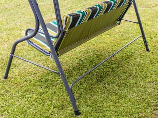 Happy Green Zahradní houpačka Panama Spring Lines, 110 × 170 × 153 cm