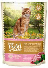Sams' Field hrana za odrasle mačke, raca, 400 g
