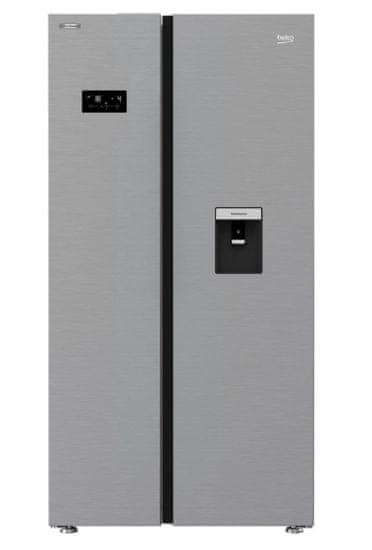 Beko GN163241ZXBN ameriški hladilnik