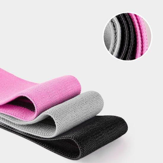 MG Exercise Loop Bands posilňovacie gumy 3ks, farebné