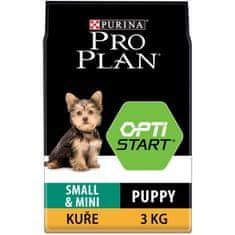 Purina Pro Plan Small & Mini Puppy OPTISTART kuře 3kg