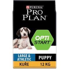 Purina Pro Plan Large Puppy Athletic OPTISTART kuře 12kg