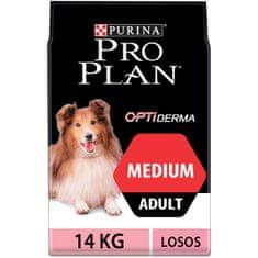 Purina Pro Plan hrana za srednje velike pse z občutljivo kožo 14kg