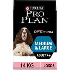 Purina Pro Plan Medium & Large Adult 7+ Sensitiver Skin 14kg