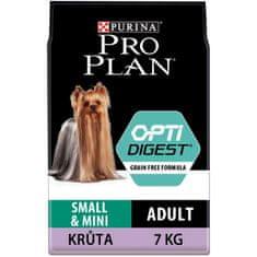 Purina Pro Plan hrana za pse s puranom Small & Mini Adult OPTIDIGEST Grain Free, 7 kg