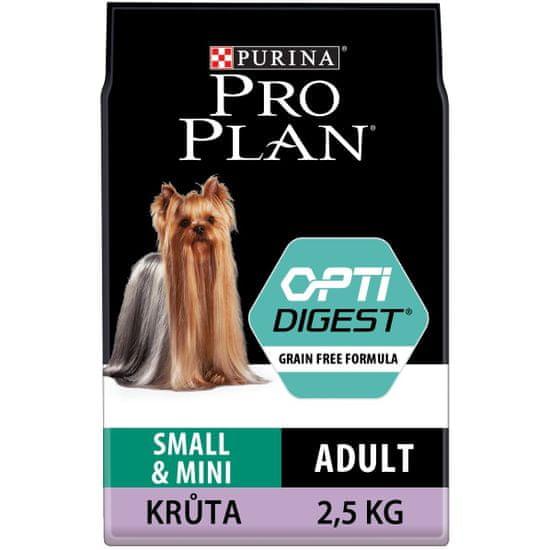 Purina Pro Plan Adult small&mini OPTIDIGEST Grain Free krůta 2,5 kg
