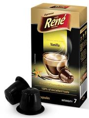 René Espresso Vanilla kapsuly pre kávovary Nespresso, 10ks