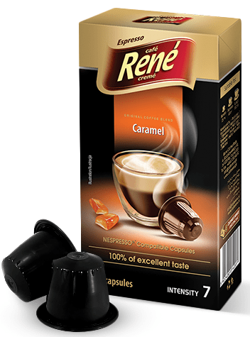 René kapsule kave Espresso Caramel Nespresso, 10 komada