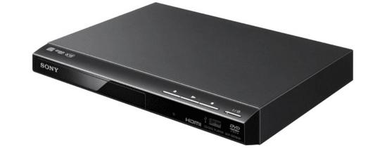 SONY DVP-SR760H DVD lejátszó, USB csatlakozás, analóg technológia, fekete