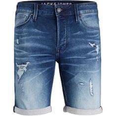 Jack&Jones JJIRICK moške kratke hlače 12166270 Blue Denim (Velikost XL)