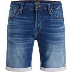 Jack&Jones JJIRICK moške kratke hlače 12166269 Blue Denim (Velikost S)