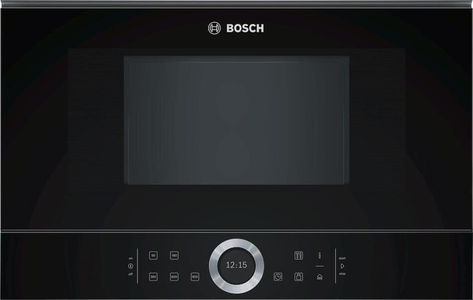 Bosch vestavná mikrovlnná trouba BFR634GB1