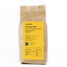 mamacoffee Fairtrade třtinový cukr Mauritius 1000 g - Zlatavě zbarvený s jemnou máslovou chutí