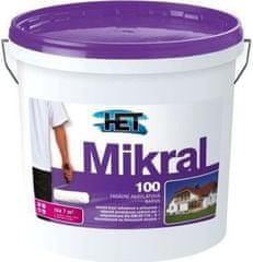 HET Mikral 100 1kg - hladká fasádní akrylátová barva