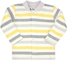 Nini jakna za dječake od organskog pamuka ABN-2359, 56, siva