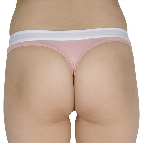 Tommy Hilfiger Dámská tanga růžové (UW0UW01555 TMJ)