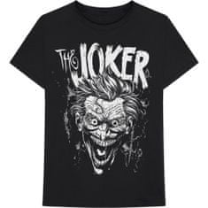 Tričko DC Comics - Joker Face unisex černé