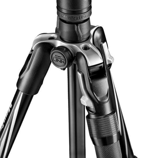 Manfrotto Befree ADVANCED 2N1 aluminijasto foto stojalo, LEVER LOCK, vključen monopod - (MKBFRLA4B-BHM) + BREZPLAČNO - nosilec za pametni telefon (MCPIXI)