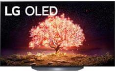 LG OLED55B13LA OLED Smart TV, 139 cm, 4K Ultra HD, HDR, webOS ThinQ AI, Fekete