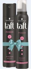 Taft lak za lase Power Cashmere Touch, 250 ml + pena Power Cashmere Touch, 200 ml