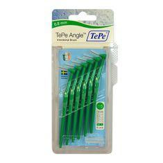 Tepe TePe ANGLE 0,80 mezizubní kartáčky zelené 6 ks