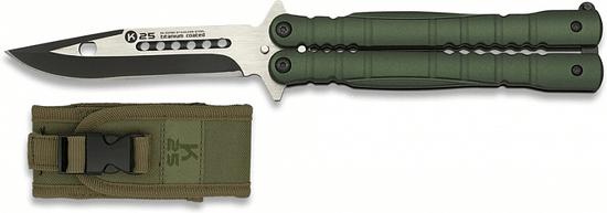 K25 Nôž motýlik K25 10.3 - zelený (02130)