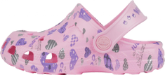 Coqui Little Frog Pink hearts dekliški natikači, 29/30, roza